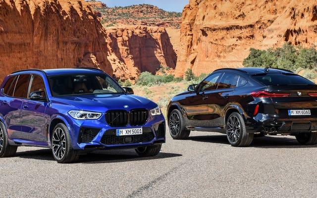 2020 BMW X5 M ve X6 M, 617 HP Crossover'lar İçin Şaşırtıcı Talebi Karşılamak İçin Burada