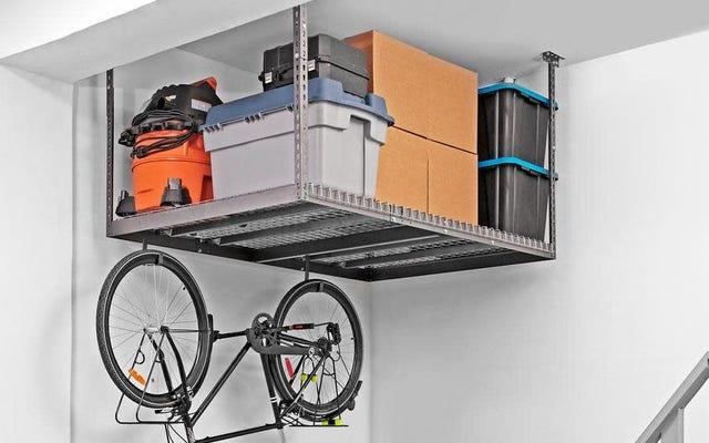 ホームデポのストレージと組織の販売であなたの厄介なガレージをクリーンアップ