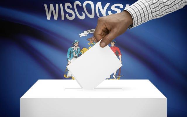 Le groupe du Wisconsin a tenté de purger près de 17000 électeurs éligibles parce que la répression des électeurs est la méthode républicaine