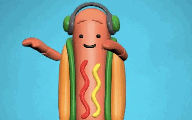 会社の収益に関するSnapCEO:踊るホットドッグはすべての人に愛されていた