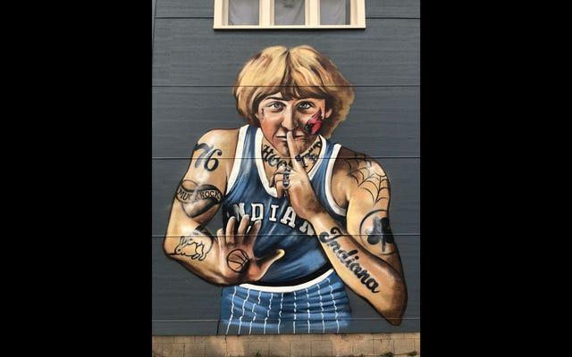 アーティストの壁画が彼を面白すぎるように見せた後、ラリー・バードは不平を言う