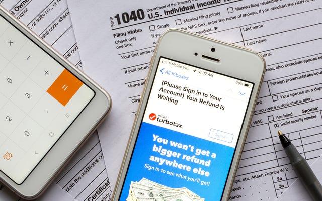 Pelanggan TurboTax Masih Akan Mendapatkan Pembayaran Stimulus Mereka