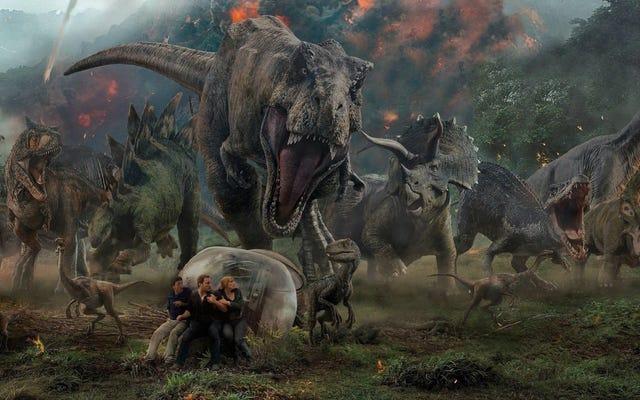 Saya Ingin Triceratops Animatronik Jurassic World 3 sebagai Hewan Peliharaan