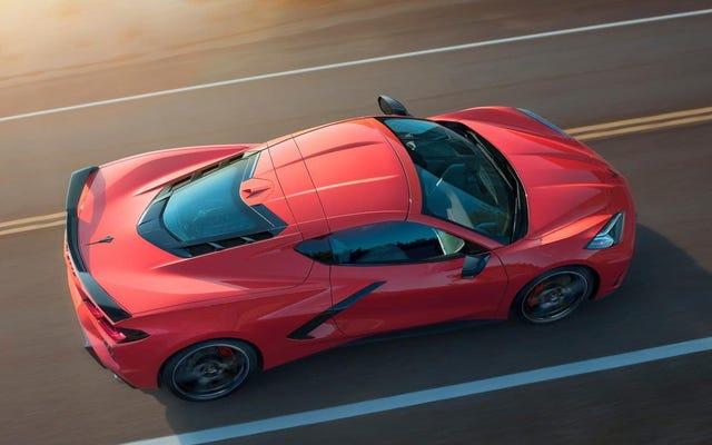 Même la Corvette C8 de base a une vitesse de pointe revendiquée de 194 mi / h