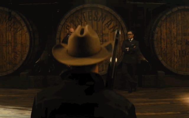 キングスマン:ゴールデンサークルの最初の予告編は、アクションと完璧なスーツの旋風です