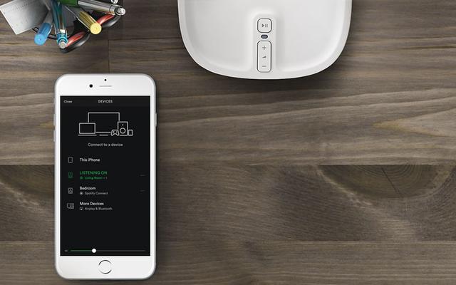 न्यू सोनोस गियर एप्पल के होमपॉड लूम के रूप में है