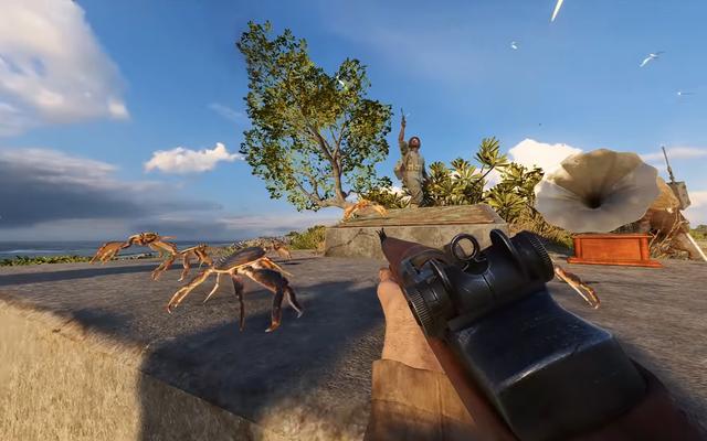 Battlefield V Easter Egg Summon Raucous Crab Rave