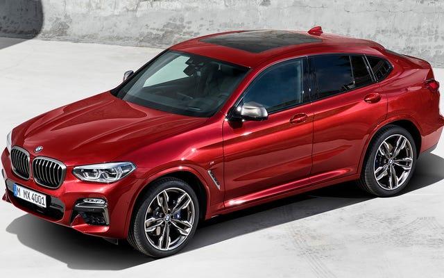 2019 BMWX4はすでに私に成長しています