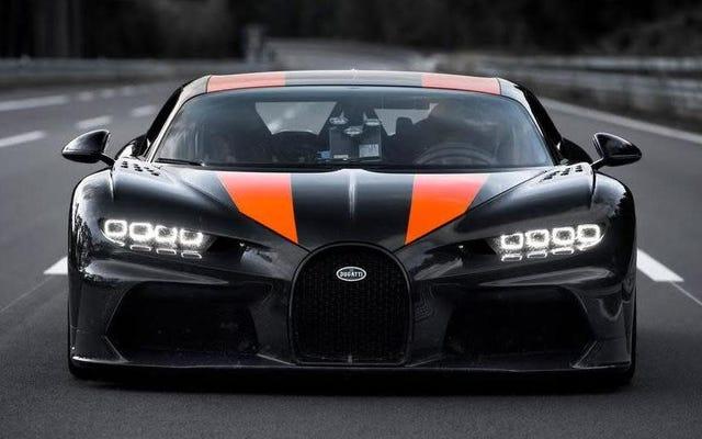 क्यों Bugatti सोचता है कि यह 304-MPH स्पीड रन की तुलना में तेजी से हो सकता है, लेकिन नहीं करने के लिए चुना है
