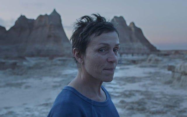 新しく洗礼を受けたヴェネツィアの勝者ノマドランドは、今シーズンのアメリカ映画かもしれません