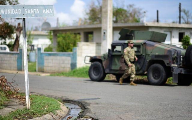 ハリケーンマリアの2か月後、プエルトリコの南東海岸での生活は依然として困難です