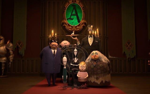 Yeni Addams Ailesi hep birlikte tamam