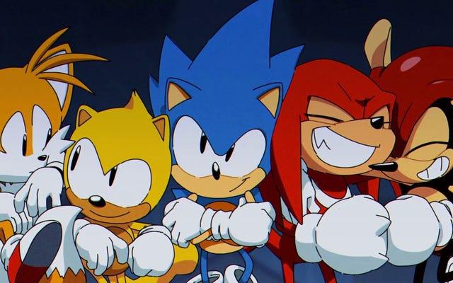 Tryb Encore w Sonic Mania jest idealnym pretekstem do ponownego zagrania