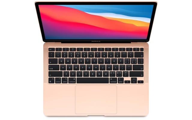 これはAppleの新しいファンフリーMacBookAirです