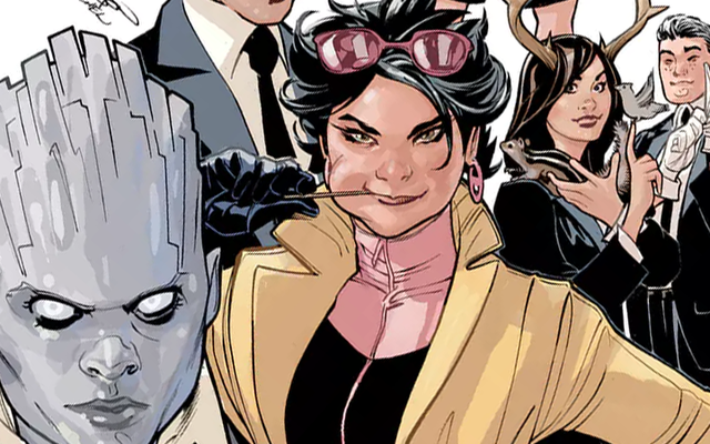 ジュビリーは新世代Xコミックのティーンミュータントの新しいチームを率いる