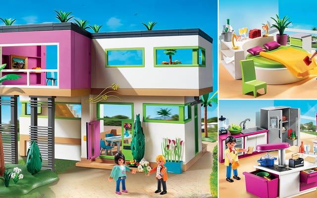 Завидовать новому ультрасовременному роскошному особняку Playmobil - нормально