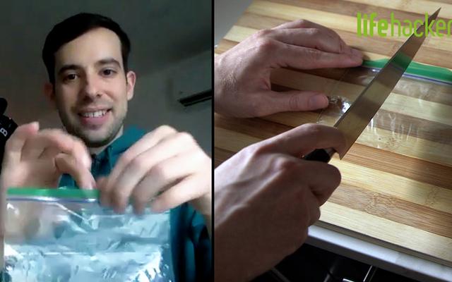 ホットナイフで独自のカスタムサイズのビニール袋を作成できますか?