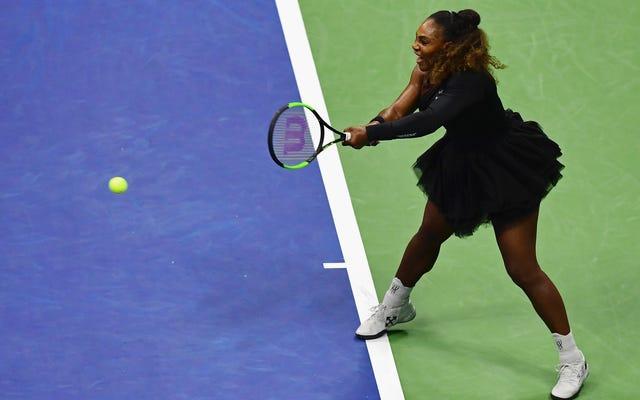 Serena Williams ha indossato un tutù Hypebeast agli US Open