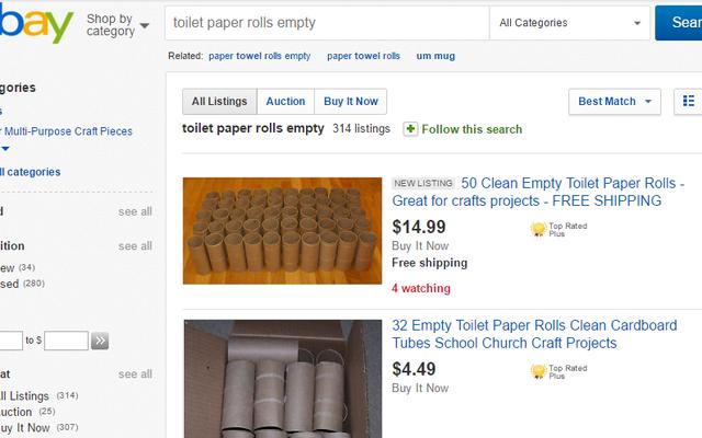 इससे पहले कि आप कुछ फेंक दें, जांचें कि क्या आप इसे eBay पर बेच सकते हैं