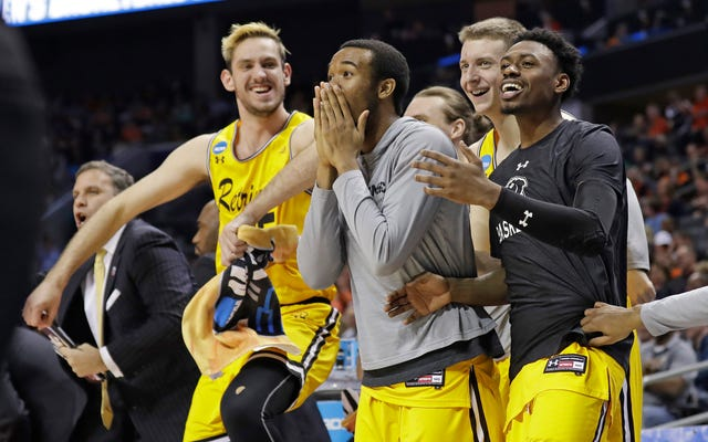 ความไม่พอใจของการแข่งขัน NCAA ของ UMBC แสดงให้เห็นถึงความเป็นเลิศด้านวิชาการดำ