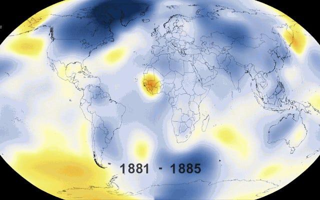 2015年は、記録された歴史の中で断然暑い年でした