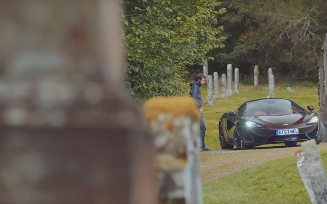 La McLaren 570GT est à son meilleur sur les routes autour de sa maison ancestrale