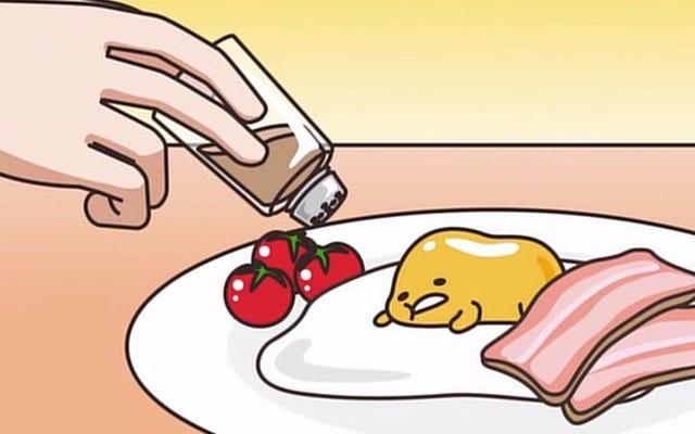 Depresif bir yumurta sarısı, Japonya'nın ihtiyaç duyduğu çizgi film anti-kahramanıdır.