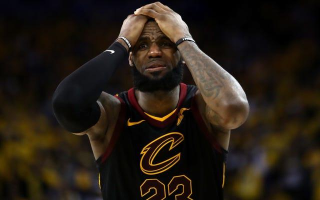 Beginilah Rasanya Saat Anda Satu-Satunya Pemain Bagus Di Tim Final NBA