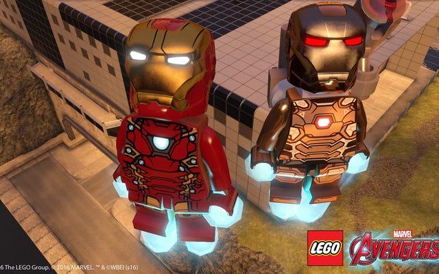 PlayStation Dapatkan Perang Saudara Gratis Dan DLC Ant-Man Untuk LEGO Avengers