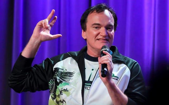 Quentin Tarantino Star Trek Filmi için Nefesini Tutmayın