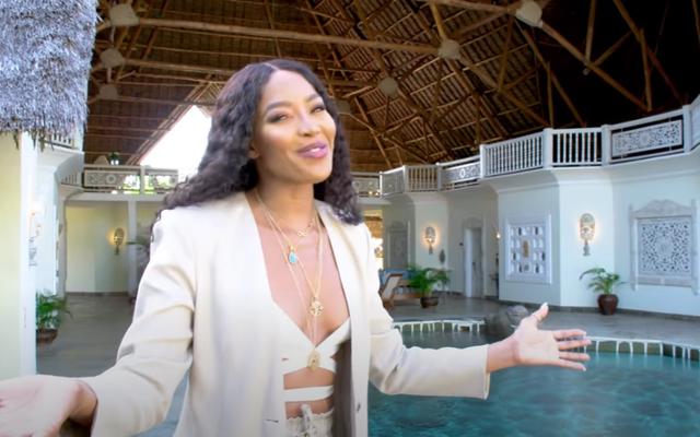 Naomi Campbell'ın Cömert Kenyalı Villası Az Önce Beni Aradı AF Kırdı