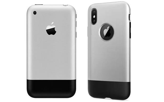 उंगली को जॉनी इवे को एक केस के साथ दें जो आपके iPhone X को मूल की तरह बनाता है