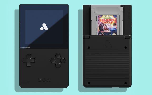 Vas a tener que esperar hasta el próximo año para tener en tus manos este clon perfecto de Game Boy