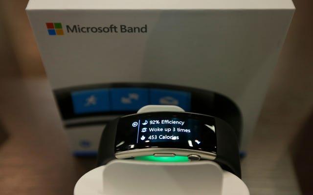 Microsoft Bandを所有していて、3月1日まで使用していた場合は、払い戻しを受ける可能性があります。
