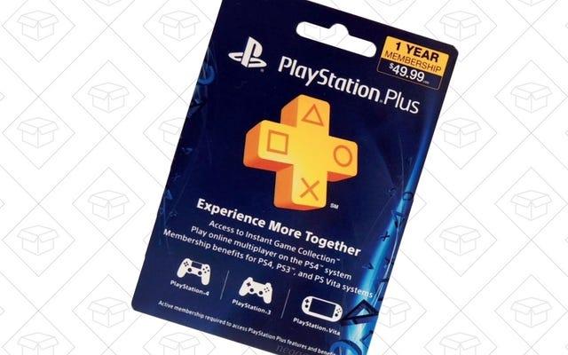 เพิ่มปีในการเป็นสมาชิก PlayStation Plus ของคุณในราคา $40