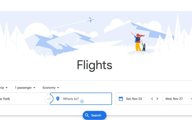 รับการแจ้งเตือนตั๋วเครื่องบินราคาถูกกว่าสำหรับสนามบินใกล้เคียงด้วย Google เที่ยวบิน
