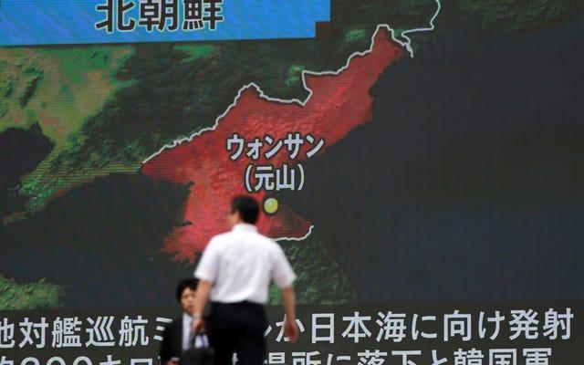 La chose effrayante à propos des lancements de missiles en Corée du Nord est qu'ils continuent de s'améliorer