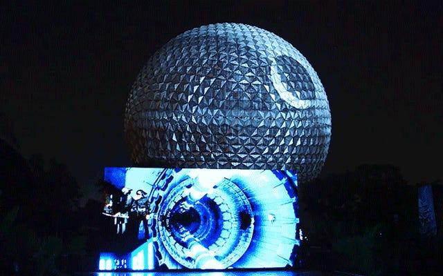 Walt Disney World convirtió la nave espacial Tierra de Epcot en la Estrella de la Muerte