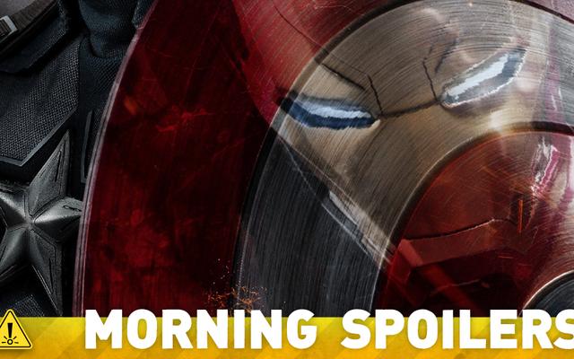 Captain America: Bürgerkriegskunst neckt einen großen Comic-Moment für Ant-Man und Hawkeye