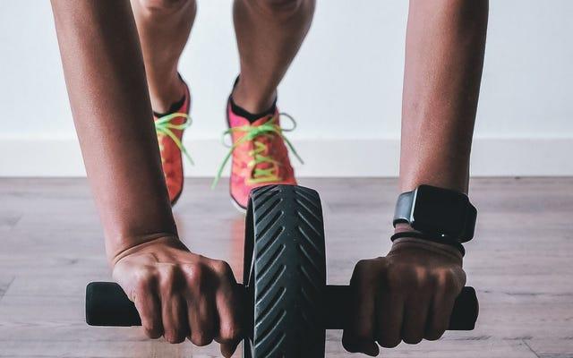 La sfida del fitness di febbraio è: esercizi di base che non sono assi