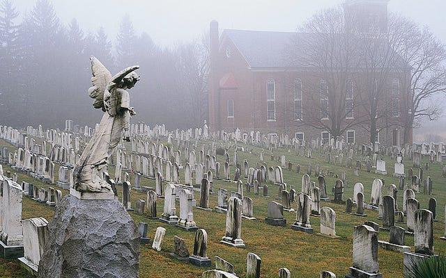 Ciò che realmente separa le storie di fantasmi dalle storie di zombie e vampiri