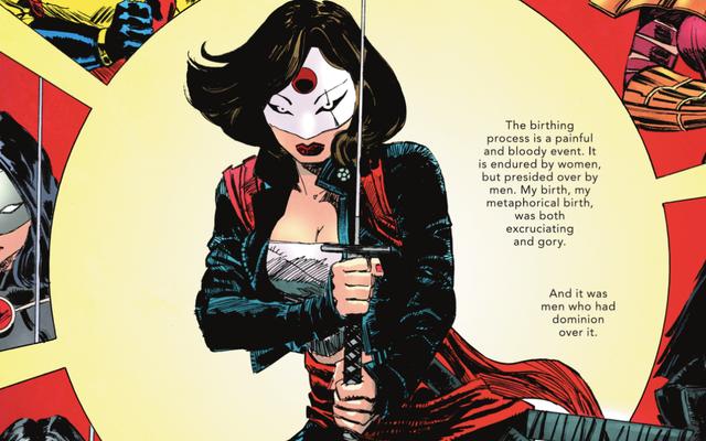 L'altra storia dell'universo DC getta una luce cruciale sulla vita interiore di Katana