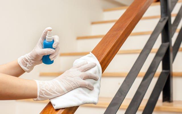 CDC, Evinizi Artık Dezenfekte Etmeyi Artık Durdurabilirsiniz