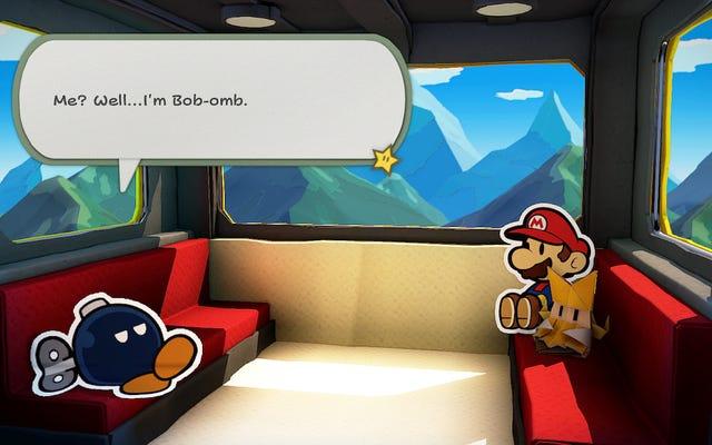 Hadi Kağıt Mario: Bizi Uçuran Origami Kral Sahnesi Hakkında Konuşalım
