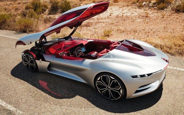 Renault Trezor Concept: je suis d'accord avec tout ce que c'est