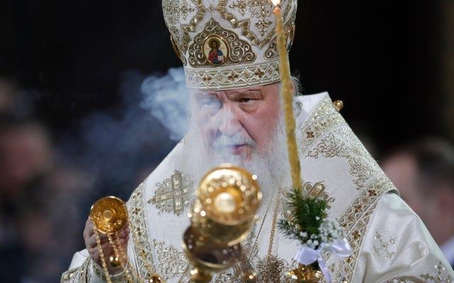 หัวหน้าคริสตจักรออร์โธดอกซ์รัสเซียเตือนบิ๊กดาต้าจะนำไปสู่การต่อต้านพระเจ้าและอืมอืม