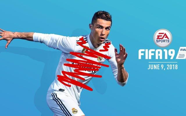 Przeklęta okładka gry FIFA 19 została naprawiona