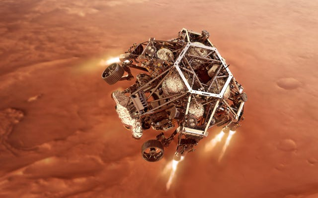 NASA Menjatuhkan Rover Baru di Mars. Inilah Yang Bisa Salah