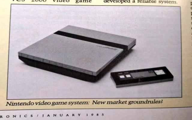 Il a fallu cinq ans à un homme pour trouver la première publicité NES