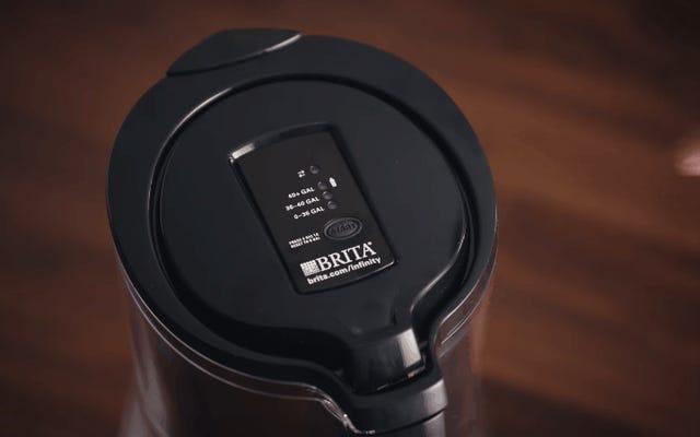 アマゾンとブリタのWi-Fiウォーターピッチャーが自動的に新しいフィルターを購入します